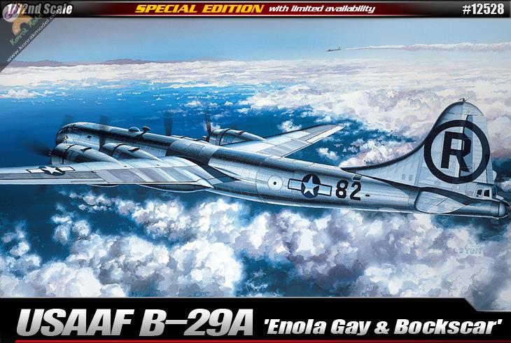 """AC12528 USAAF B-29A """"Enola Gay & Bockscar 1:72"""