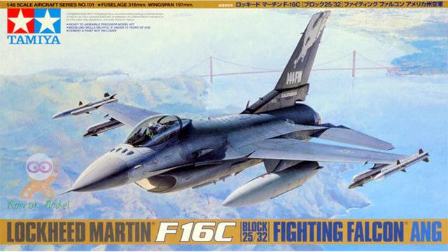 TA61101 1/48 Lockeed F-16C (block 25/32)