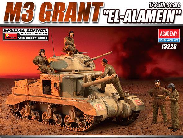 """AC13228 M,3 GRANT """"EL ALAMEIN"""" 1/35"""