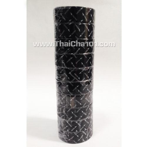 เทปพันสายไฟYAZAKI สีดำ(แถวละ10ม้วน)