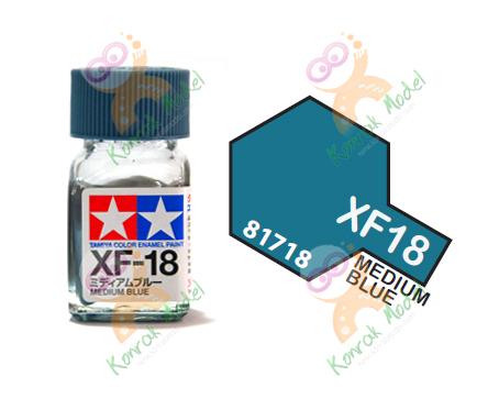 Enamel XF18 Med Blue 10ml