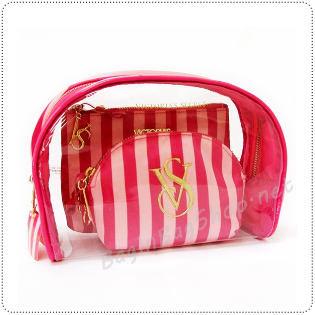 &#x2764️ VS Hot Pink Strip in Trio Bag