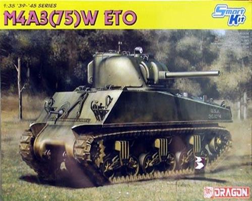 DRA6698 M4A3 75 (W) ETO (1/35)