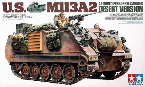 TA35265 U.S. M113A2 ARMORED DESERT VERSION 1/35