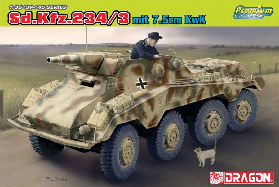 DRA6786 Sd.Kfz.234/3 (PREMIUM) 1/35 SCALE