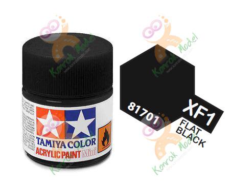Acrylic XF1 Flat Black 10ml