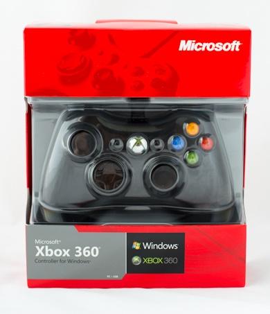 จอย XBOX 360 แบบมีสาย (กล่องแดงของแท้)