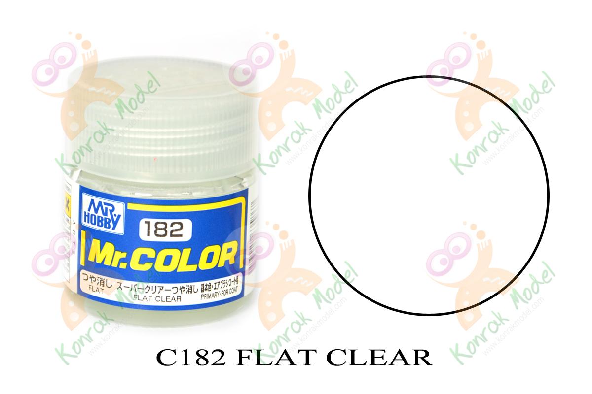 C182 Flat Clear 10ml