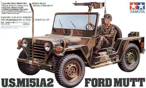 TA35123 U.S. M151A2 Ford Mutt Kit