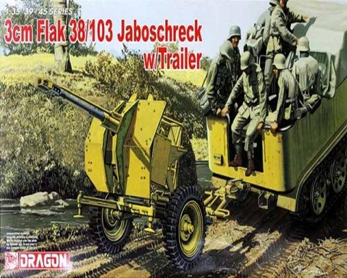 DRA6353 3cm FLAK w/TRAILER (1/35)