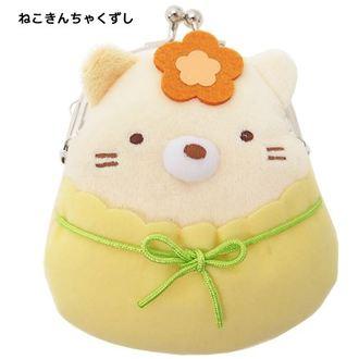 กระเป๋าใส่เหรียญ Sumikko Gurashi แมว