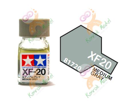 Enamel XF20 Med Grey 10ml