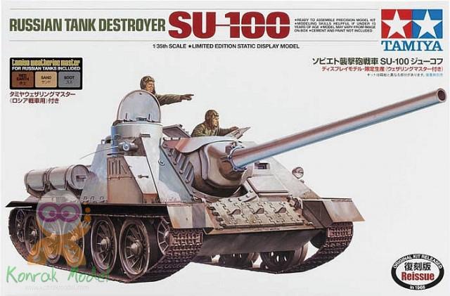 TA89791 Russian Tank Destroyer SU-100 (1/35)