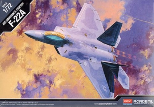 AC12423 F-22A AIR DOMINANCE1/72