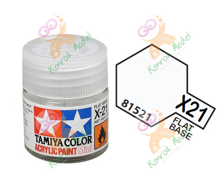 Acrylic X21 Flat Base 10ml