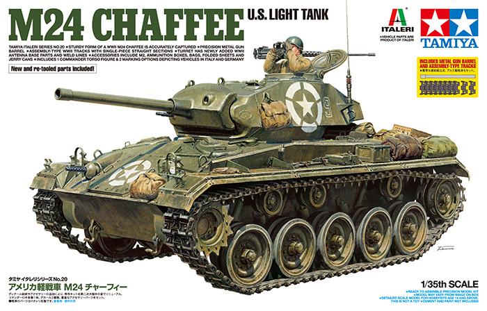 TA37020 US Light Tank M24 Chaffee 1/35
