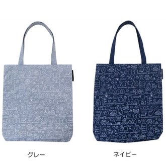 กระเป๋าสะพาย Sumikko Gurashi สีน้ำเงินใบใหญ่