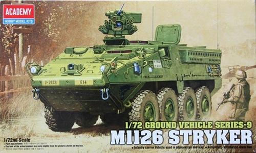 AC13411 GROUND VEHICLE SERIES - 9 M1126 STRYKER ( 1/72 )