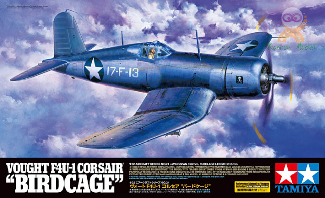 "TA60324 Vought F4U-1 Corsair - ""Birdcage"" (1/32)"