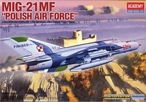 """AC12224 MIG-21 """"POLISH AIR FORCE"""" 1/48"""