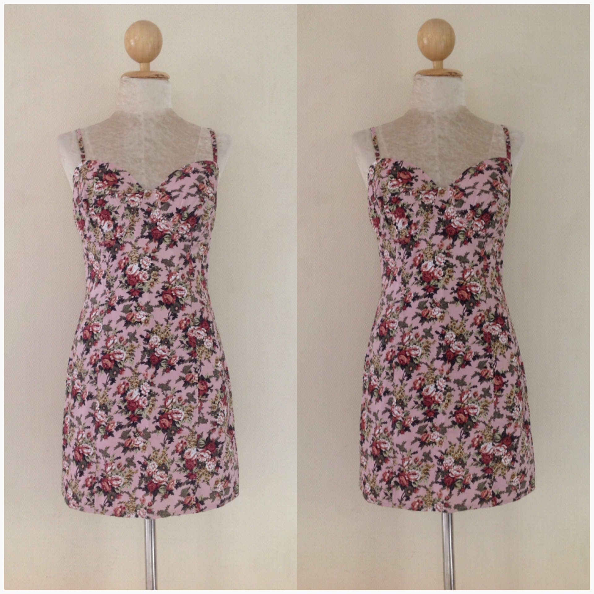 Topshop Floral rose Dress