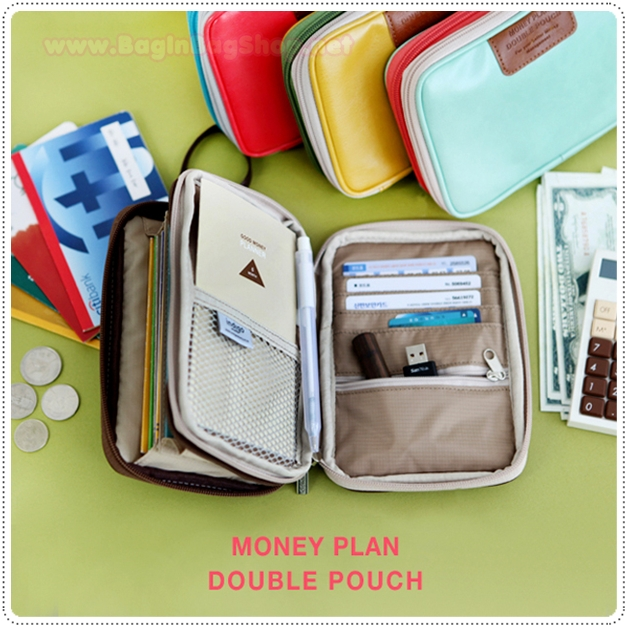 Money Plan Double Pouch