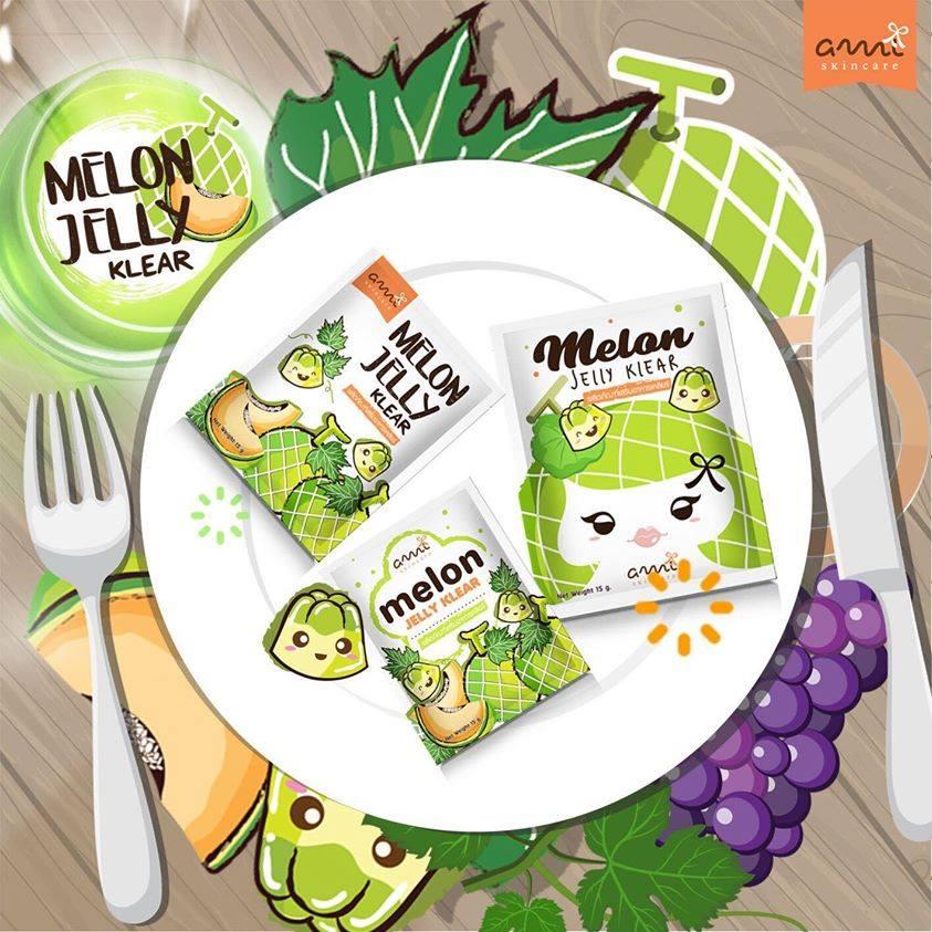 Melon Jelly Klear by Ami Skincare เจลลี่เมล่อน ฉีกกฎความขาว