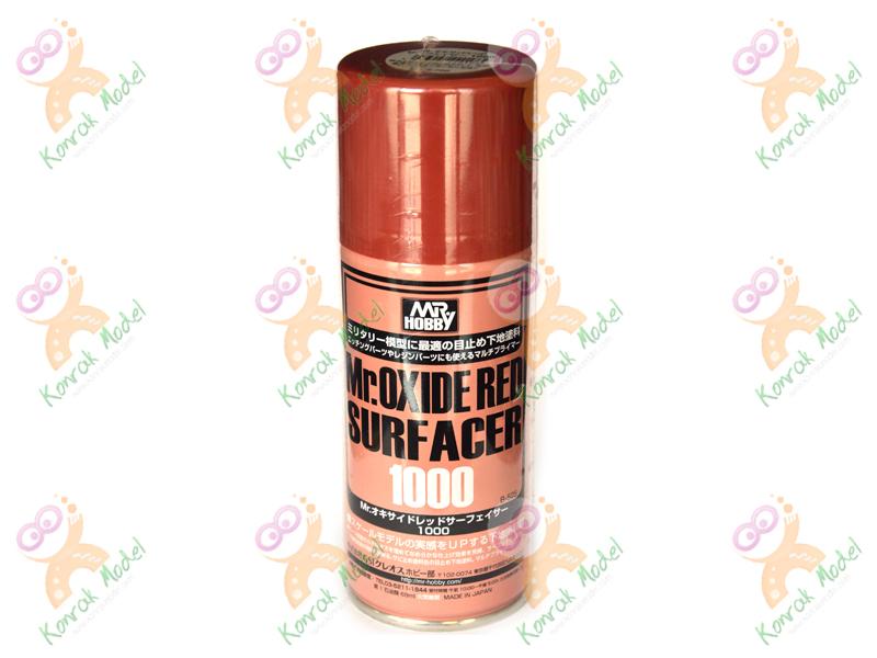 B525 - Mr.Oxide Red Surfacer 1000 (Spray 170ml)