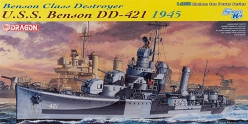 DRA1032 USS BENSON DD-421 1945 (1/350)