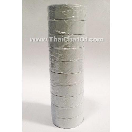 เทปพันสายไฟYAZAKI สีขาว(แถวละ10ม้วน)