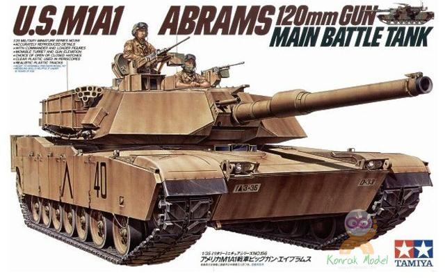 TA35156 1/35 U.S.M1A1 Abrams Kit