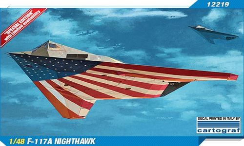 AC12219 F-117A NIGHTHAWK LAST FLIGHT 1/48