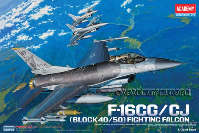 AC12101 F-16CG/CJ (Block40/50) Fighting Falcon 1/32