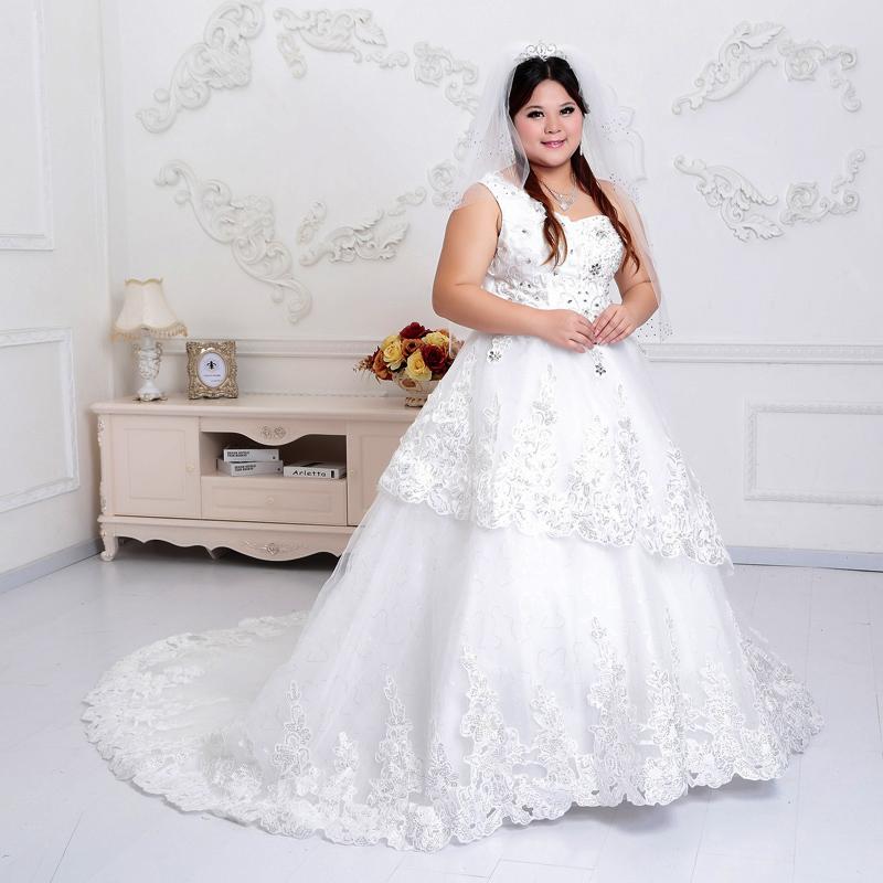 (Pre-Order) ชุดแต่งงานคนอ้วน <สายเดี่ยว> รหัสสินค้า PSWDL0024
