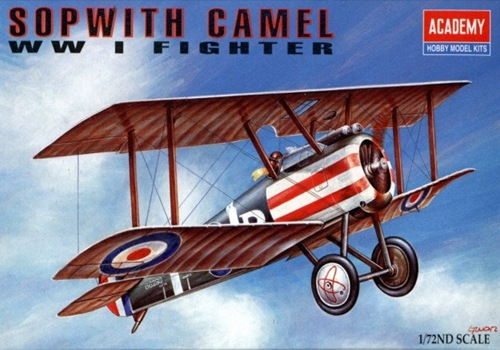 AC12447 SOPWITH CAMEL WWII FIGHTER (1/72)