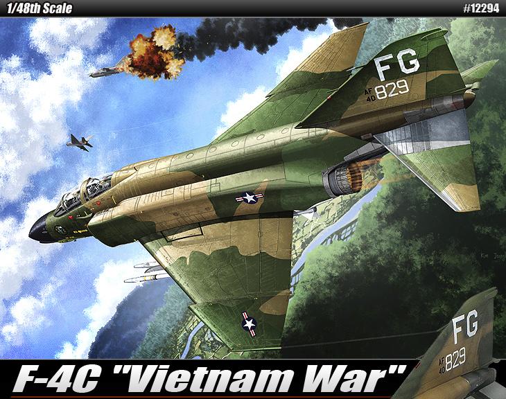 "AC12294 USAF F-4C""VIETNAMESE WAR"" 1/48"