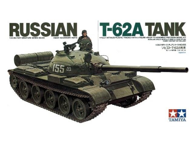 TA35108 Russian T-62 Tank Kit - CA208 1/35