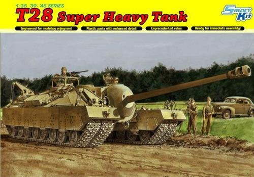 DRA6750 T-28 SUPER HEAVY TANK (1/35)