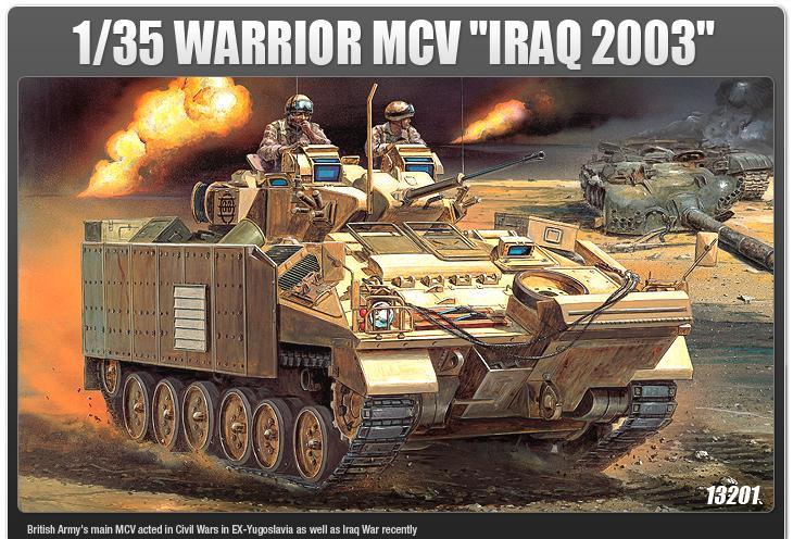 AC13201 WARRIOR MCV [IRAQ 2003] 1/35