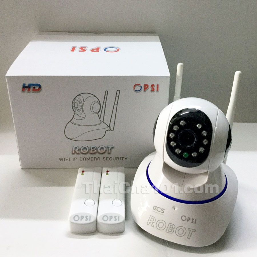 ชุดกล้อง PSI ROBOT WIFI IP CAMERA SECURITY HD