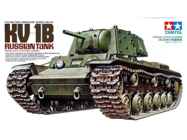 TA35142 KV-1B 1/35