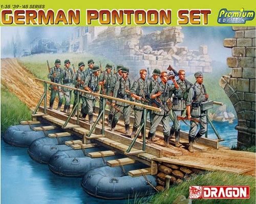 DRA6532 GERMAN PONTOON SET (PREMIUM) (1/35)