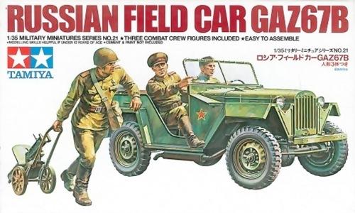 TA35021 RUSSIAN FIELD CAR GAZ67B 1/35