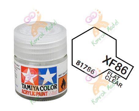 Acrylic XF86 Flat Clear 10ml