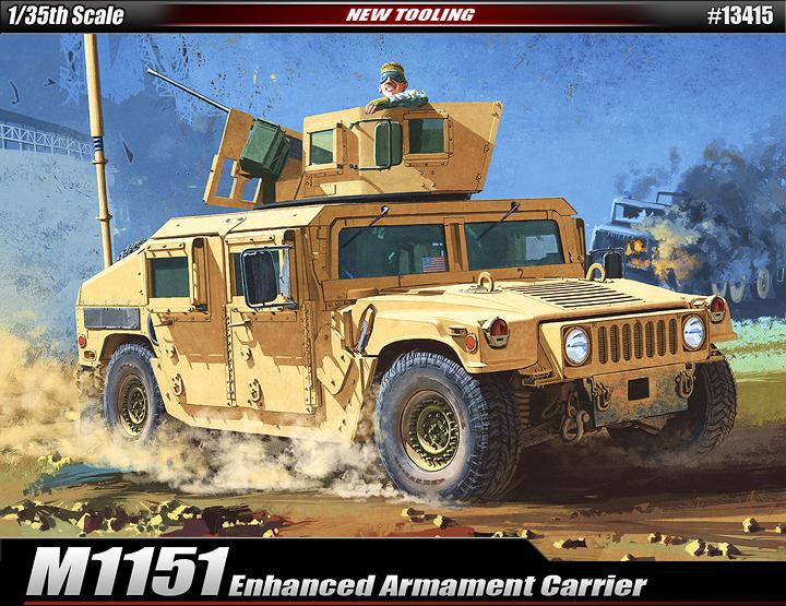 AC13415 M1151 ENHANCED ARMAMENT 1/35