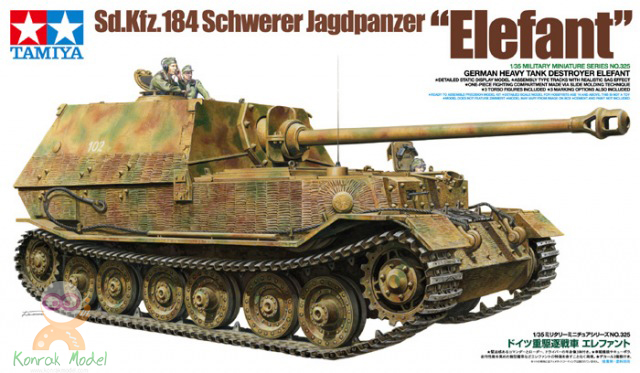 TA35325 German Tank Destroyer Elefant