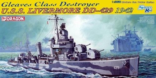 DRA1027 U.S.S LIVERMORE (1/350)