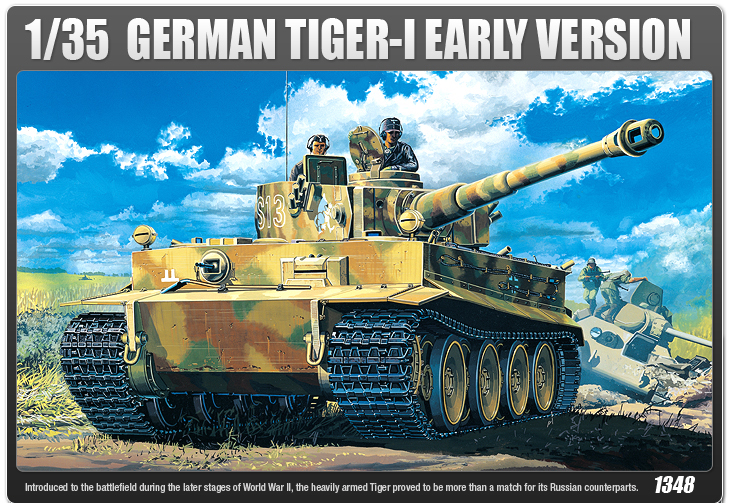 AC13239 GERMAN TIGER-I EARLY VERSION (1/35)