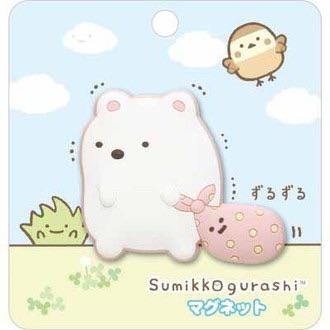 แม่เหล็กติดตู้เย็น Sumikko Gurashi (หมีขาว)