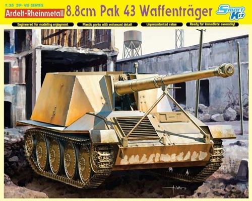 DRA6728 8.8 cm Pak 43 WAFFENTRAGER (1/35)
